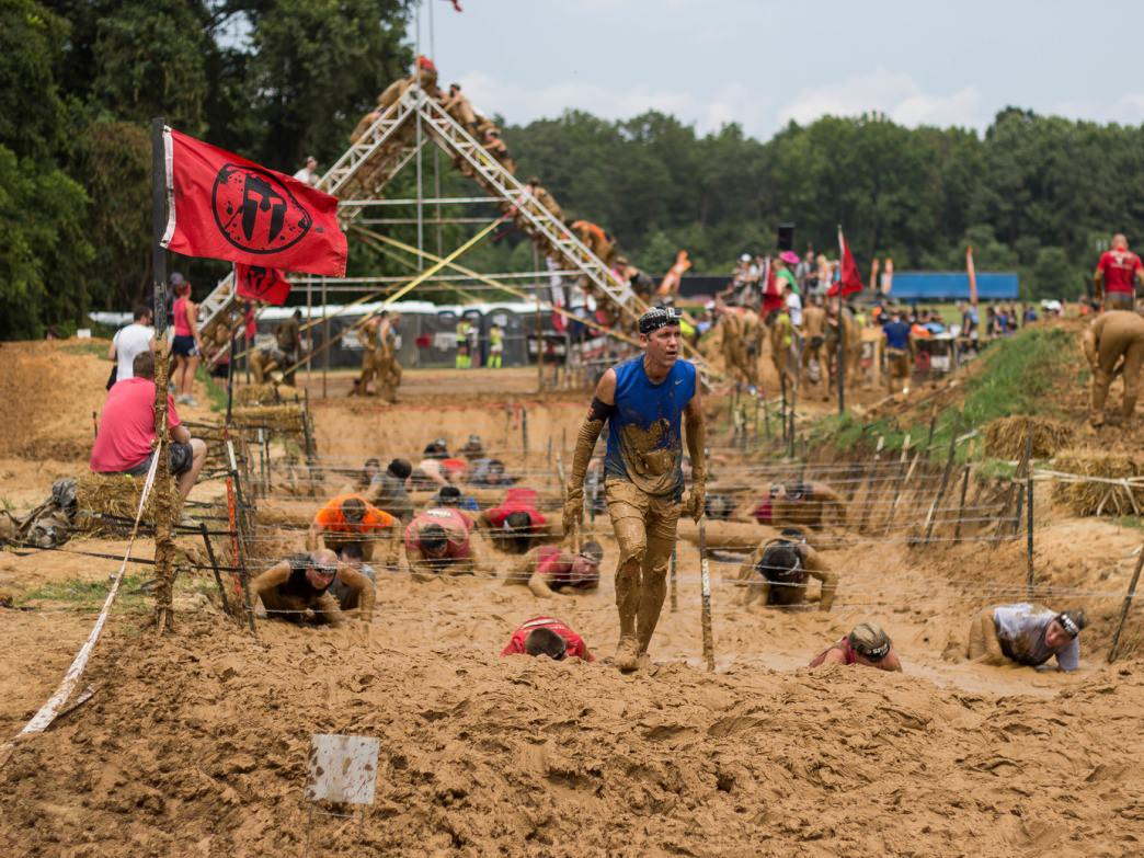 The Spartan Run is one of the more challenging adventure runs.
