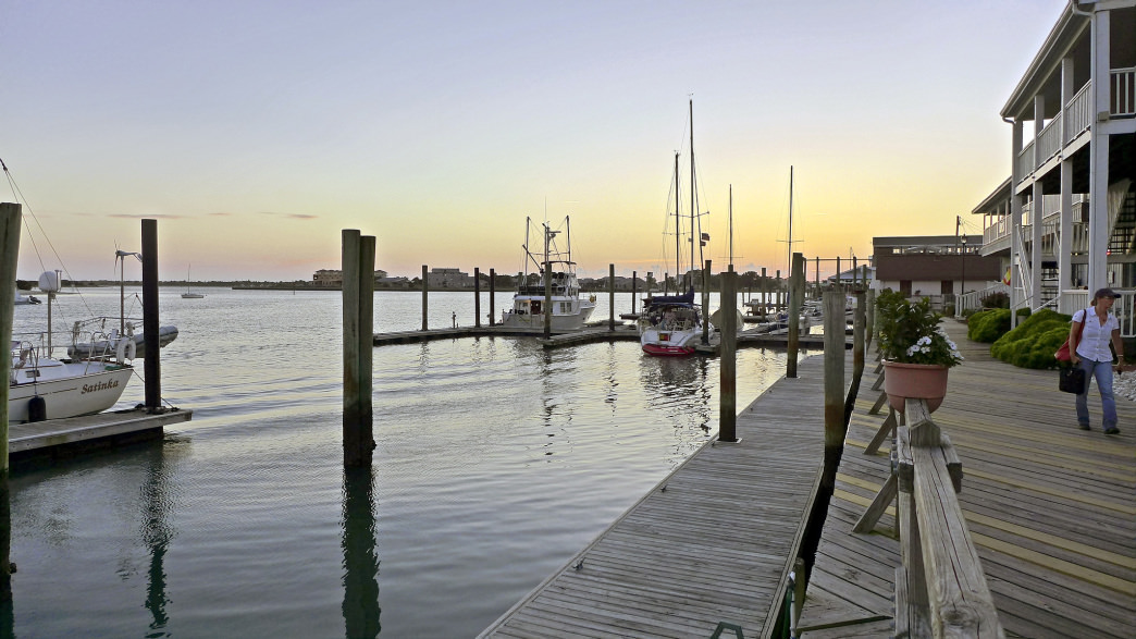 Beaufort, North Carolina, is a good home base for a trip to the Crystal Coast.