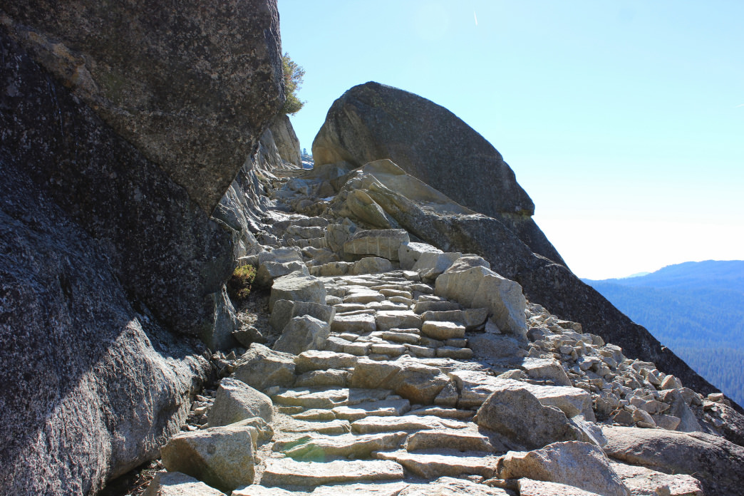 Climb the Chilnualna Falls Trail for a stunning view at the top.
