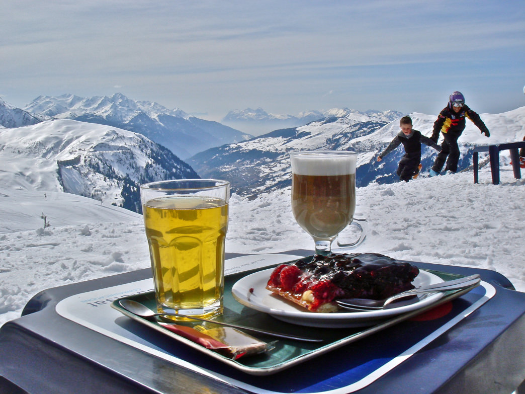 Ski in the French Alps and you'll discover a commitment to an overall mountain experience, including fine food and wine.