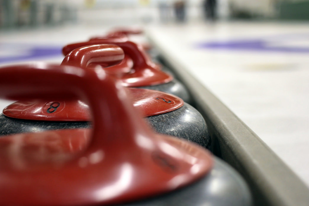 Try your hand at curling, one of the media-darling sports of the Winter Olympics.