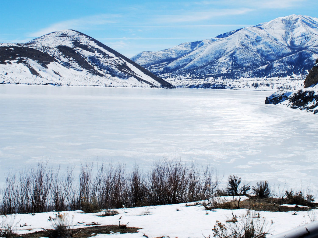 The beautiful Heber Valley is filled with winter activities to enjoy the spectacular views.