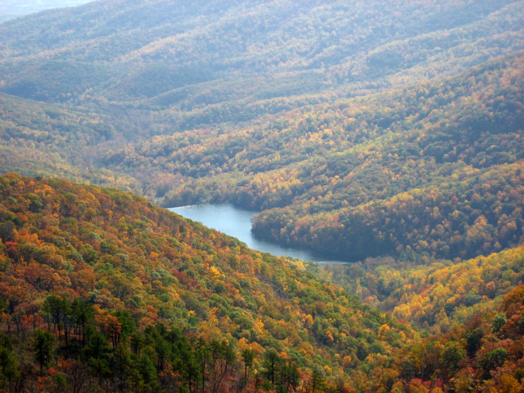 The mountains around Charlottesville give outdoor enthusiasts plenty of opportunities.