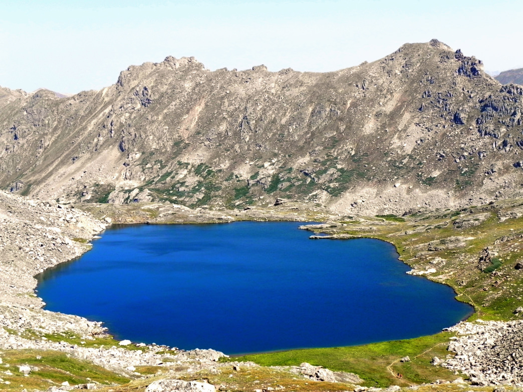 Lost Man Lake with UN 13,001—Colorado's lowest official 13er—in the background.