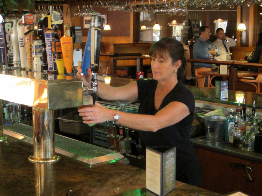 Patrick's Pub and Eatery is a favorite with locals and Gunstock skier.