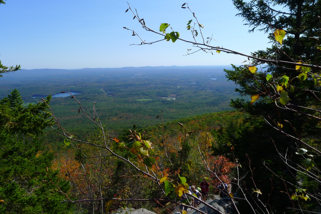 Thirty-five miles of trail can be found around Monadnock, New Hampshire.