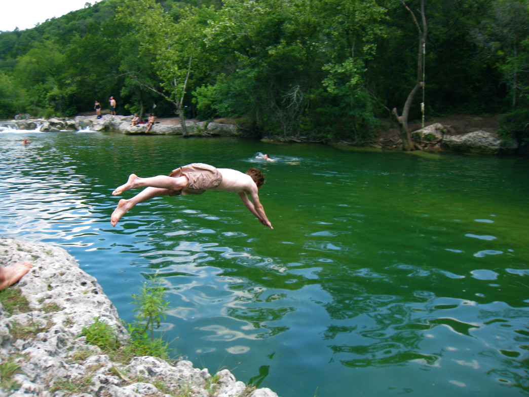 Barton Creek Greenbelt, Texas.