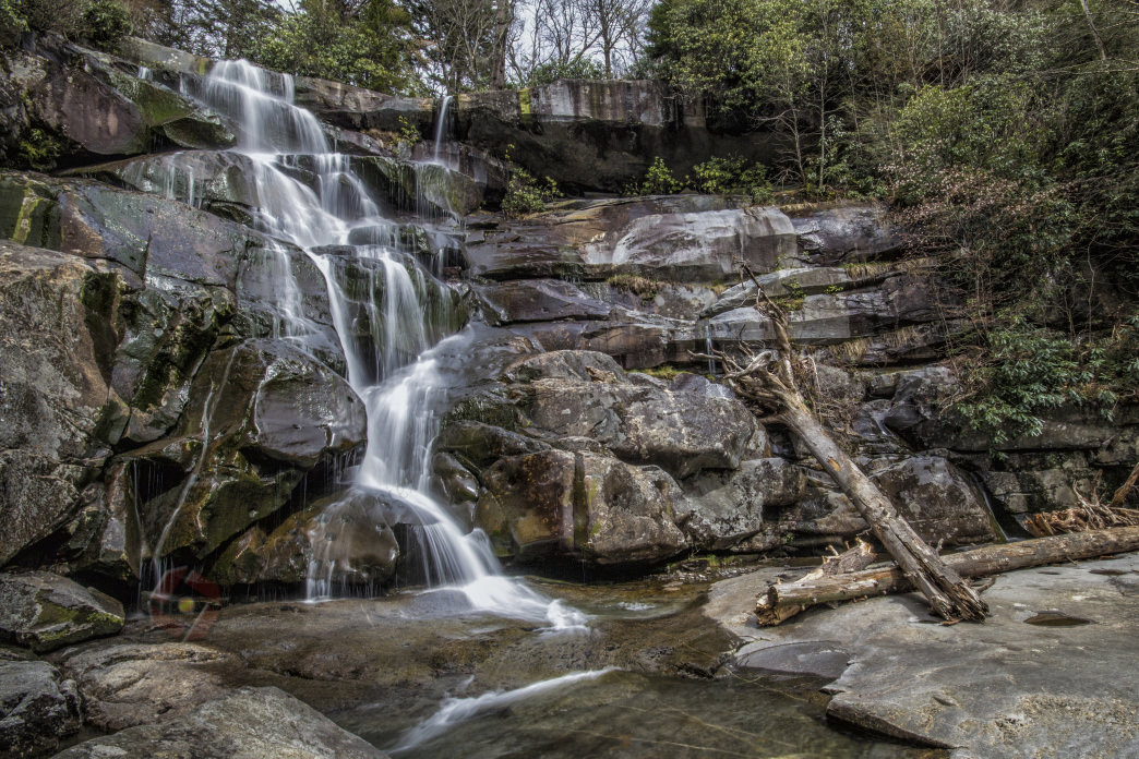 Ramsey Cascades is a frequently photographed waterfall in the Smokies.
