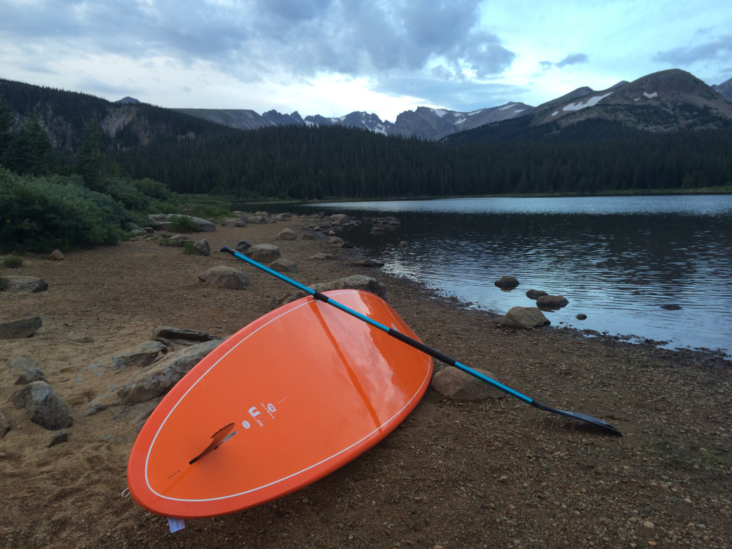 The rugged Indian Peaks form a stunning backdrop for Brainard Lake.