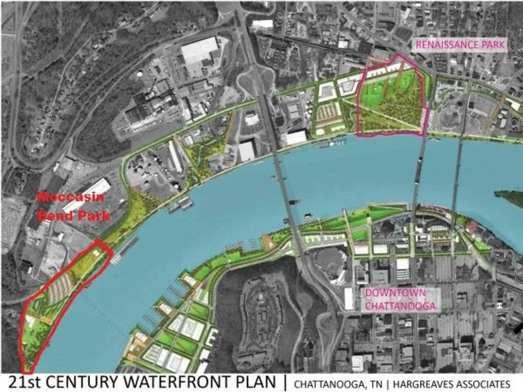 The Friends of Moccasin Bend Waterfront Plan