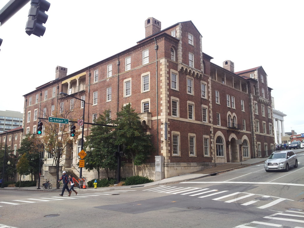 Housed in a historic building on Clinch Ave., Lindsay Young Downtown YMCA is the third oldest YMCA facility in the country.      Bob Cummings