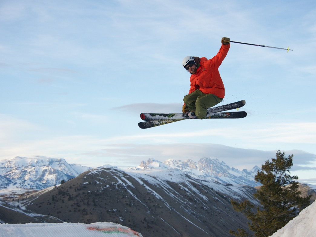 Fly high at one of two terrain parks on offer.