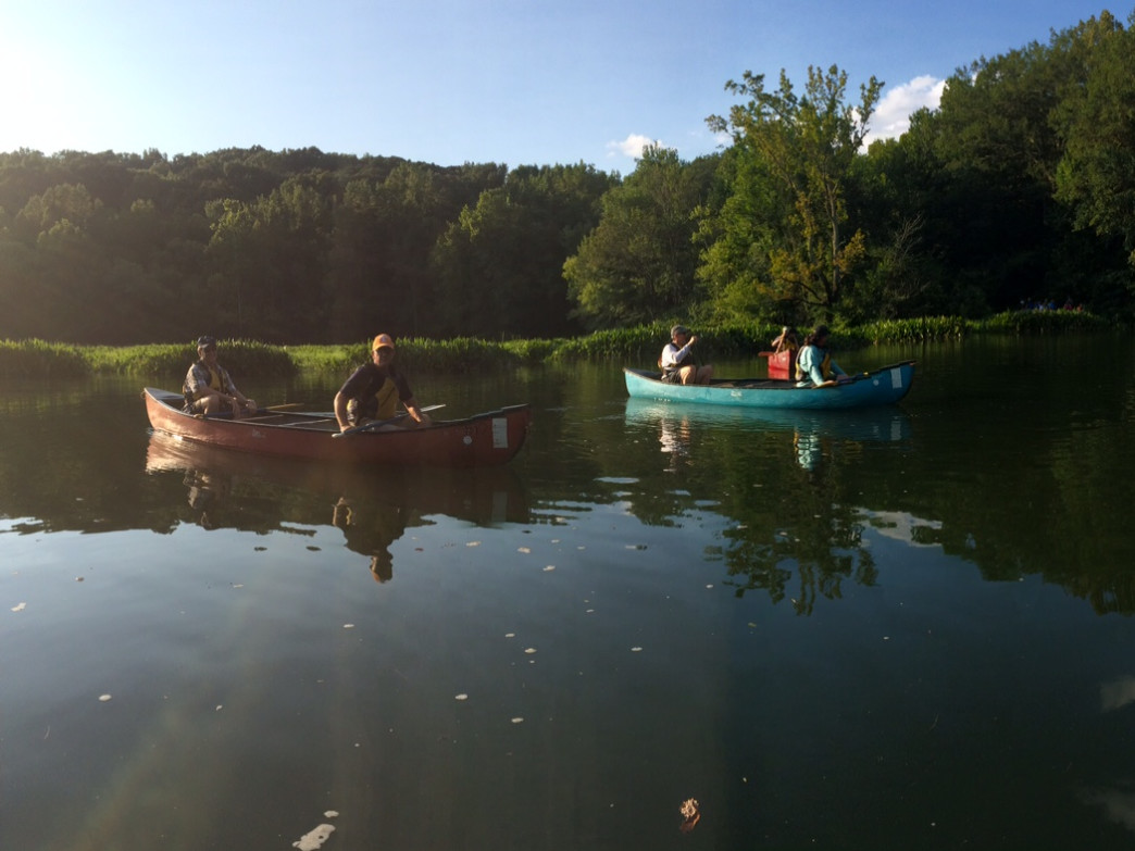Paddling is a great way to learn more about the Chickamauga and Chattanooga National Military Park.