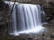 Ranger Falls at moderate flow, Savage Gulf State Natural Area