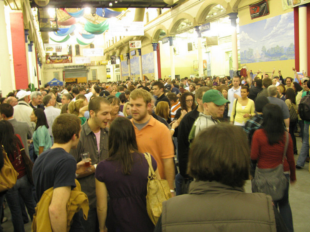 The Philly Craft Beer Festival attracts thousands of beer enthusiasts annually.