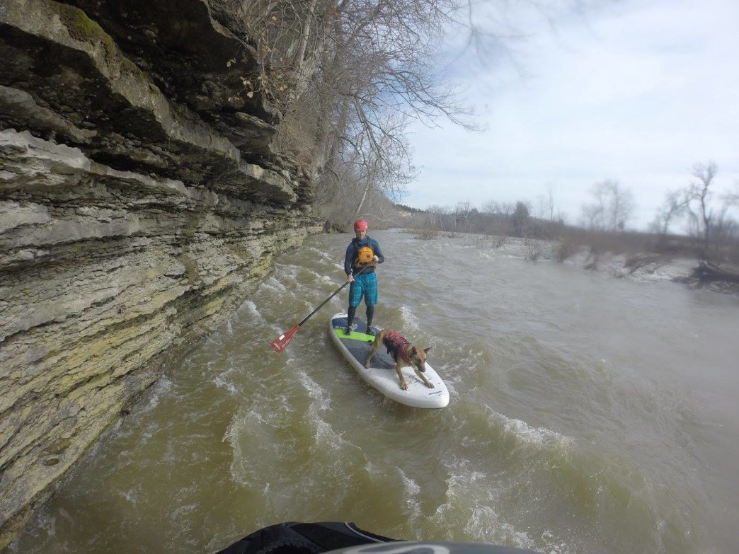 Elkhorn Creek is a great place to paddle.