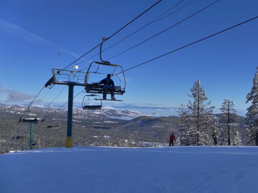 Loup Loup is a family friendly ski area with great views.