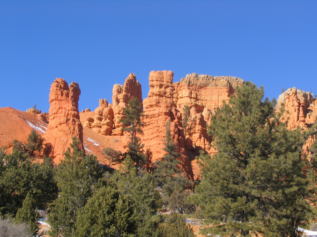 Red Canyon along Highway 12 Scenic Byway.