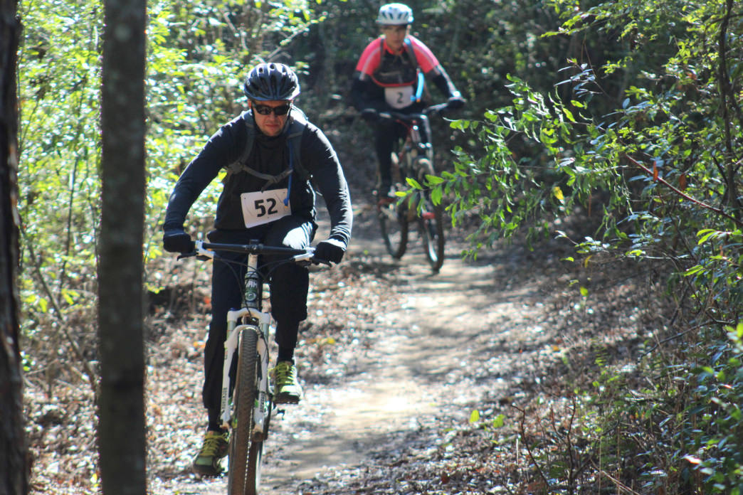 The Forever Wild MTB trails in Dothan have something for all skill levels.     Photo courtesy of Kim Meeker/ Southeast Alabama Mountain Bikers