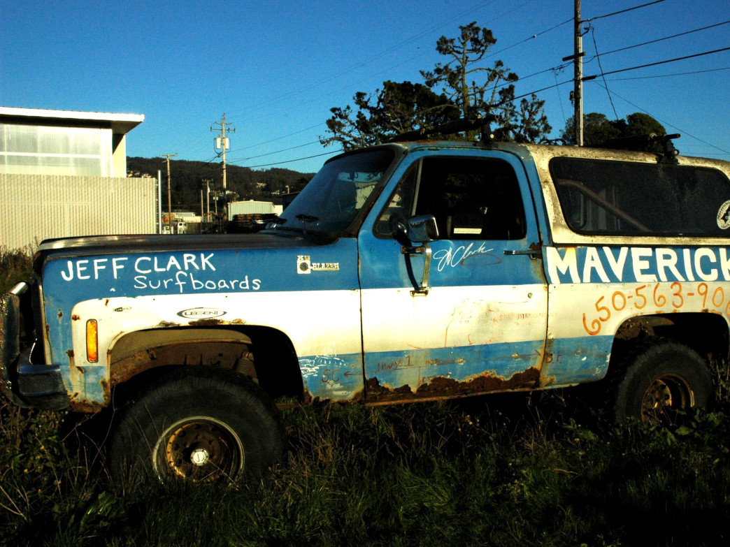 Jeff Clark, founder of Titans of Mavericks, is also owner of Mavericks Surf Company.