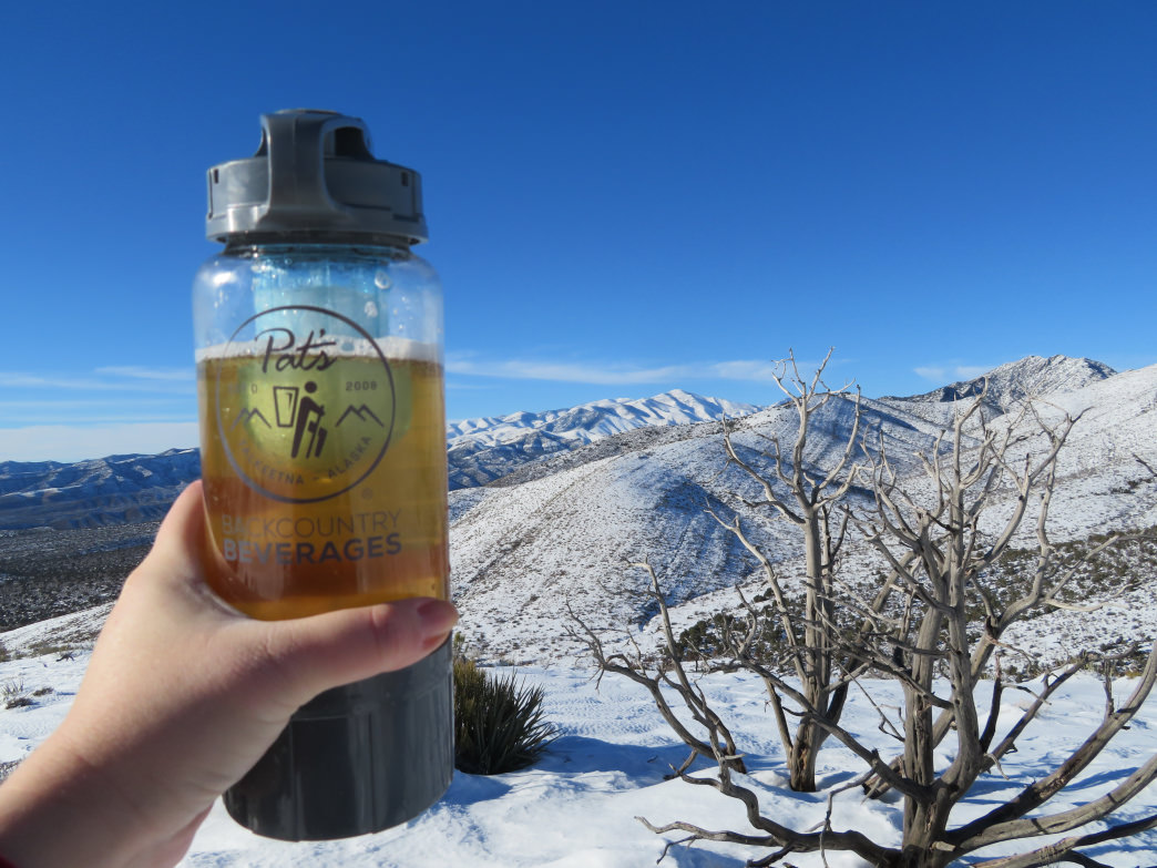 Turning water into alcohol with the help of Pat's Backcountry Beverages.     Krista Diamond