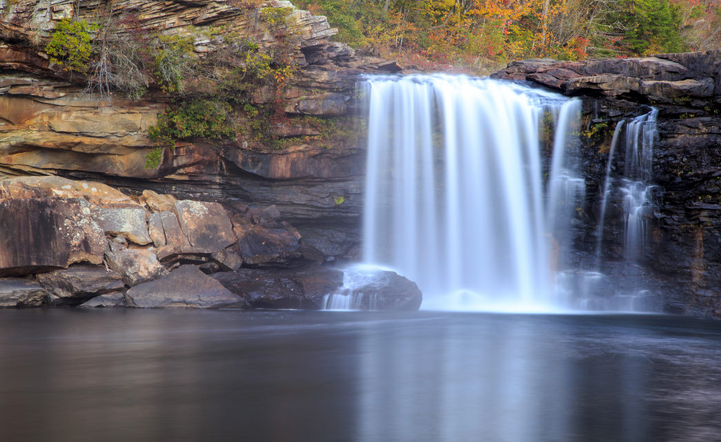 The trail also came north from Fort Payne, crossing Little River just north of its famous waterfall.