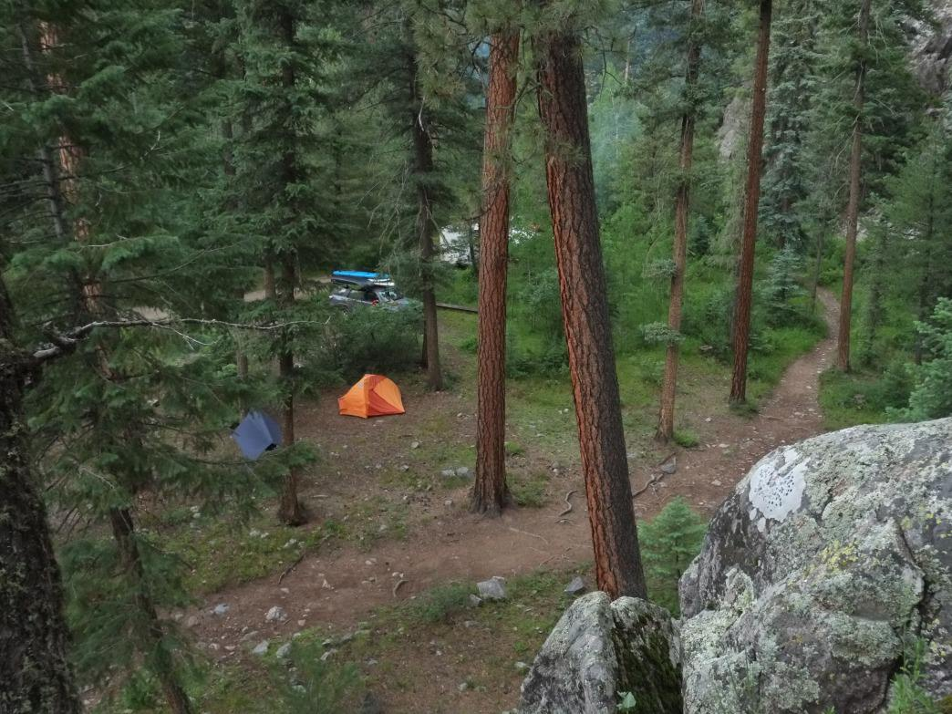 The Vallecito Campground, on the edge of the Weminuche Wilderness, is a fantastic spot to spend a fall weekend.