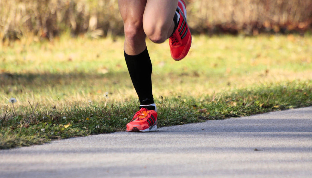 It's important to have the right gear when running paved or dirt trails.