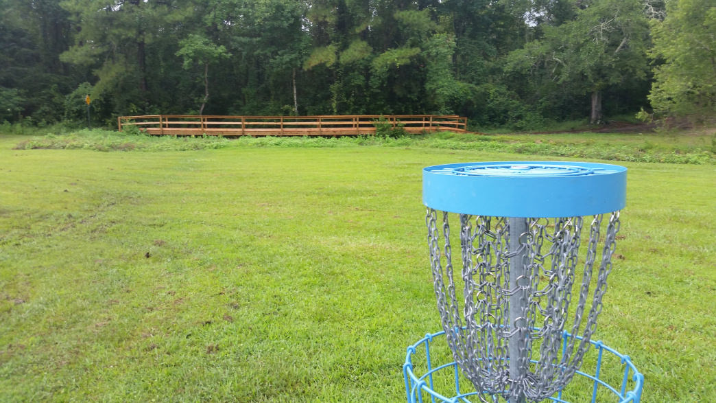 You'll find several creeks on the course at Daphne's Central Park Disc Golf Course.     Joe Cuhaj