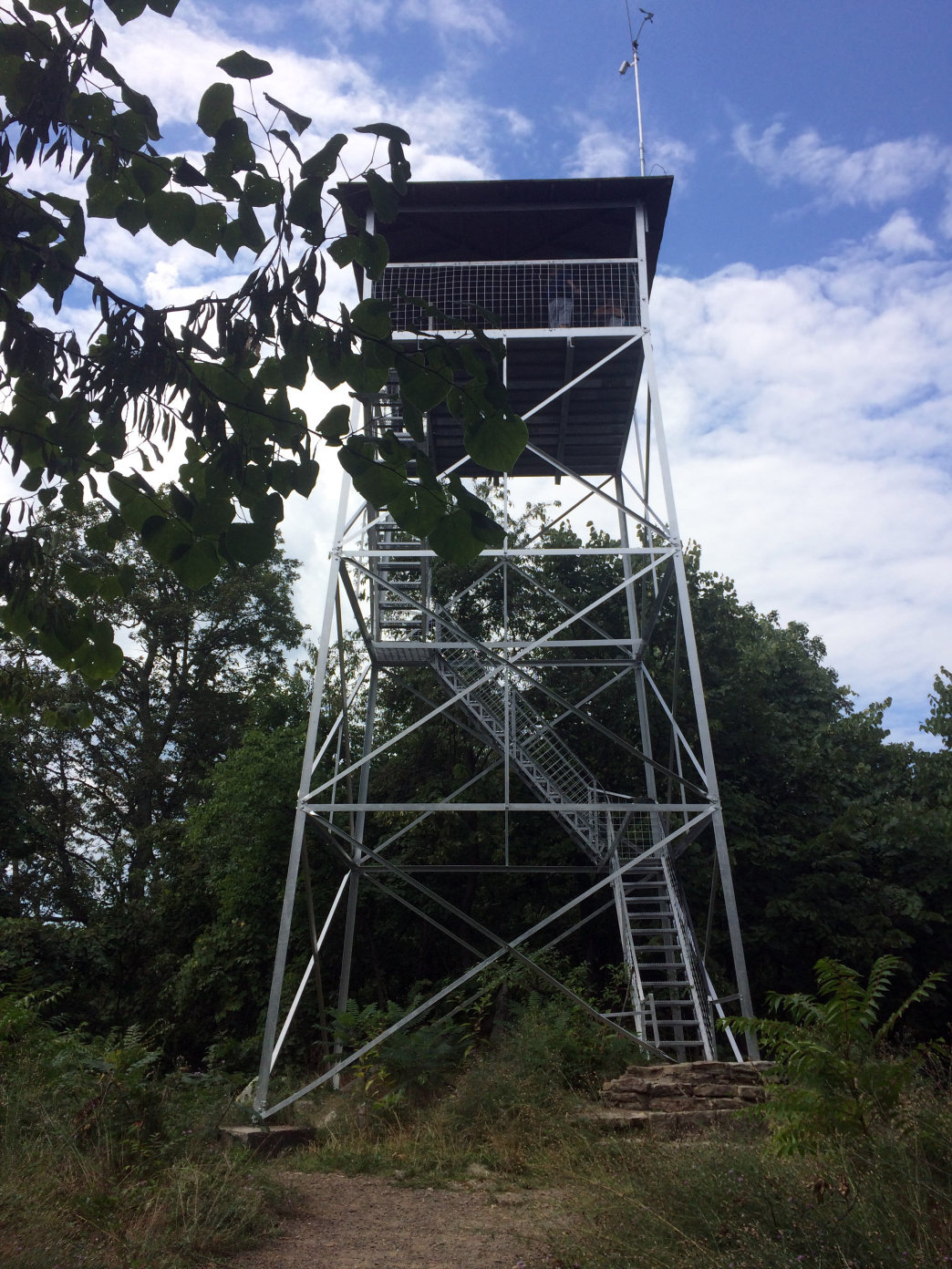 The Woodstock Tower offers some of the best views in the George Washington National Forest.