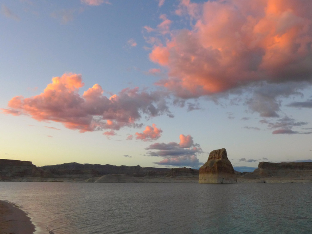 Evening at Lake Powell.