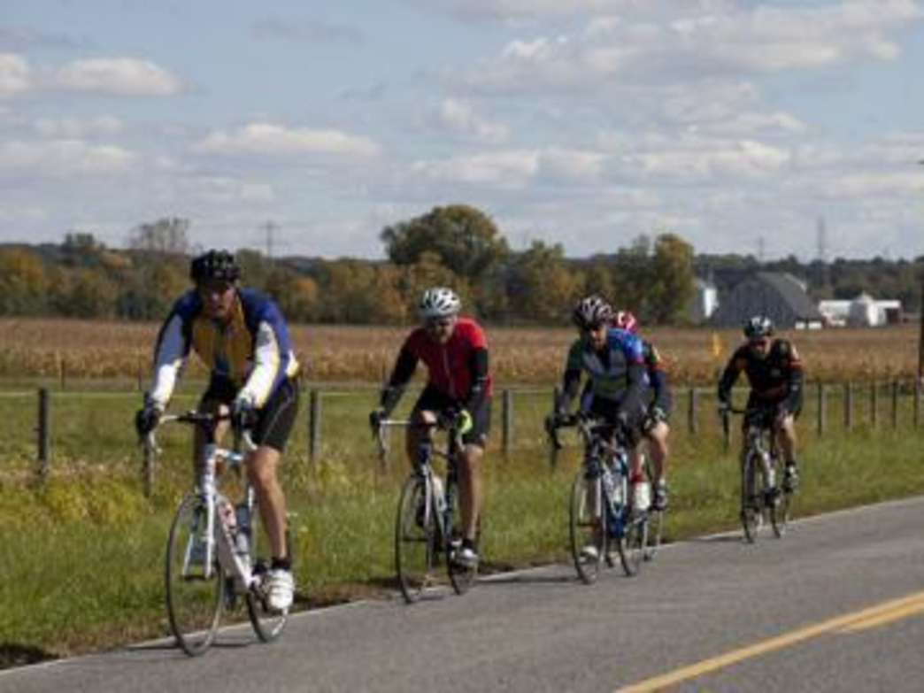 The Apple Cider Century is the largest century ride in the Midwest, with more than 5,000 riders.