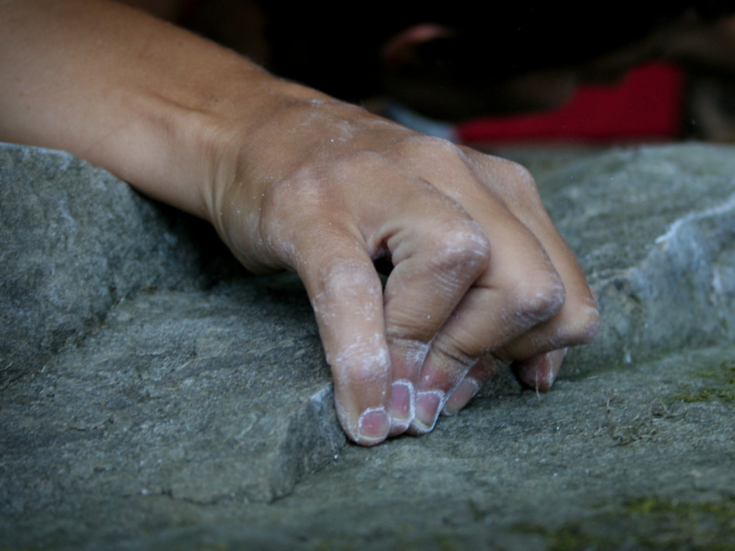 The beauty of bouldering