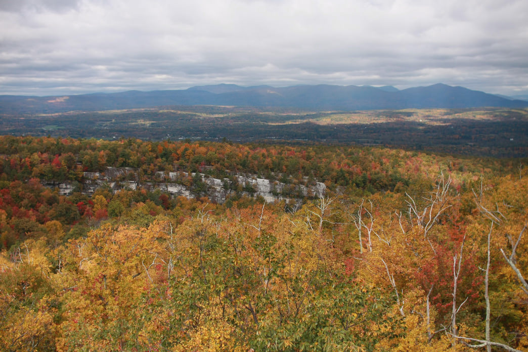 There's plenty of hiking in New Paltz.