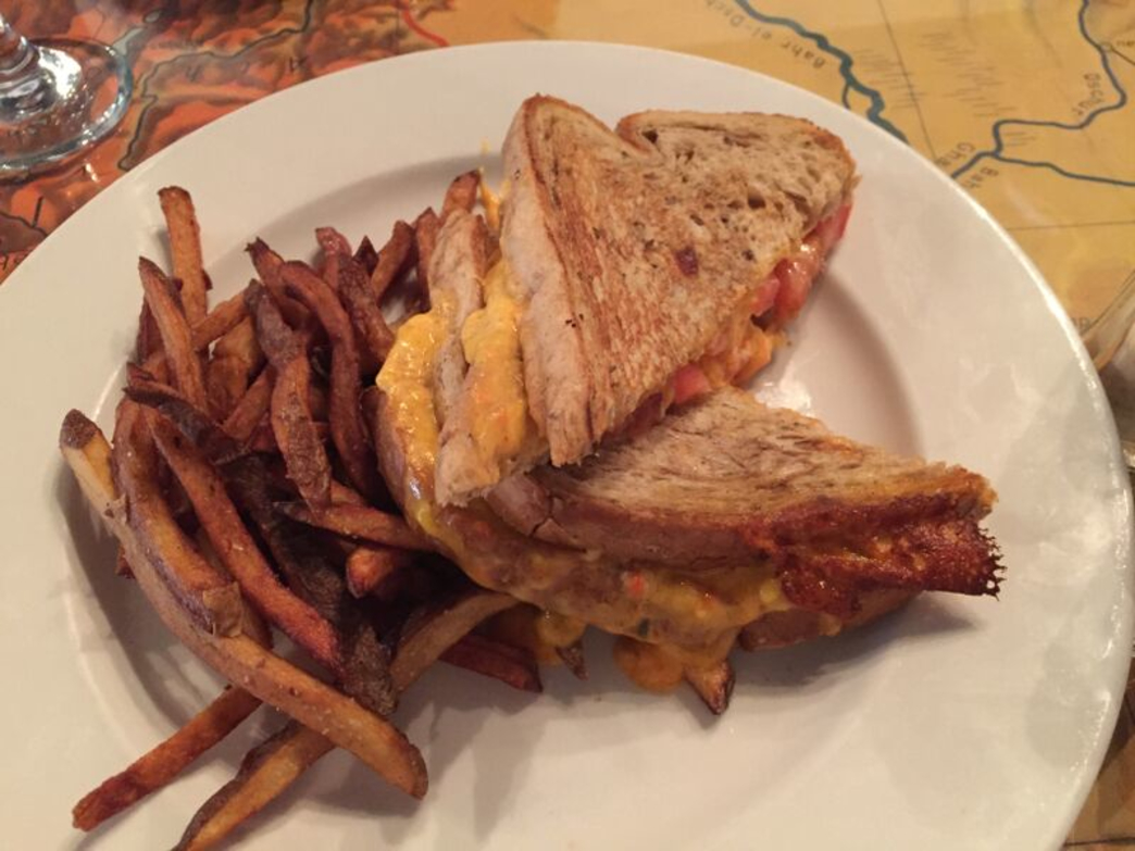 Port of Call's version of grilled cheese is a southern twist on a childhood favorite.