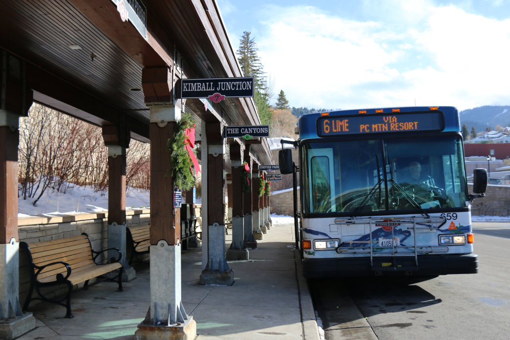 Getting around town is easy with Park City's free transit system.