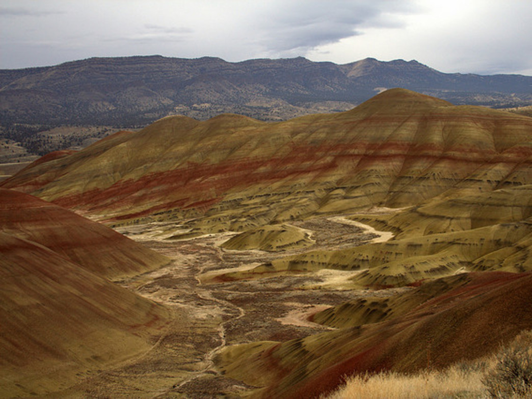 The Painted Hills Unit of the John Day Fossil Beds National Monument is one of Oregon's most popular tourist attractions.