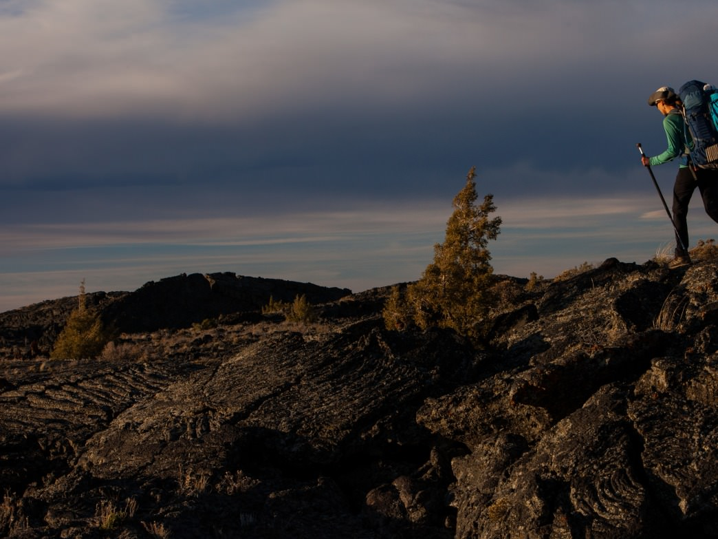 Hiking the Wilderness of Craters of the Moon National Monument & Preserve.