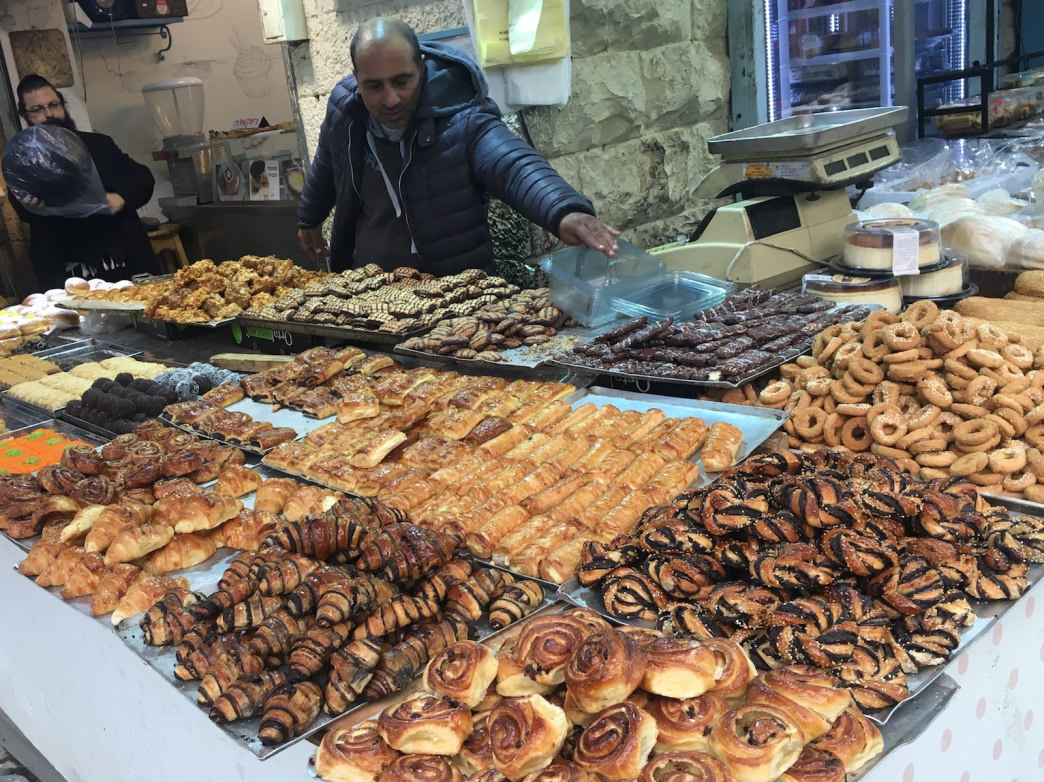 You might have a tough time choosing how to get baked in Israel.