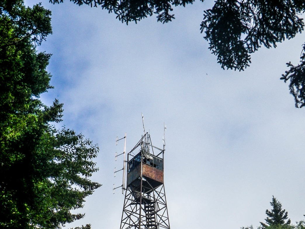 Those willing to climb the old fire tower atop Mount Sterling will be greeted with views of the Smokies and the Cherokee and Pisgah National Forests.