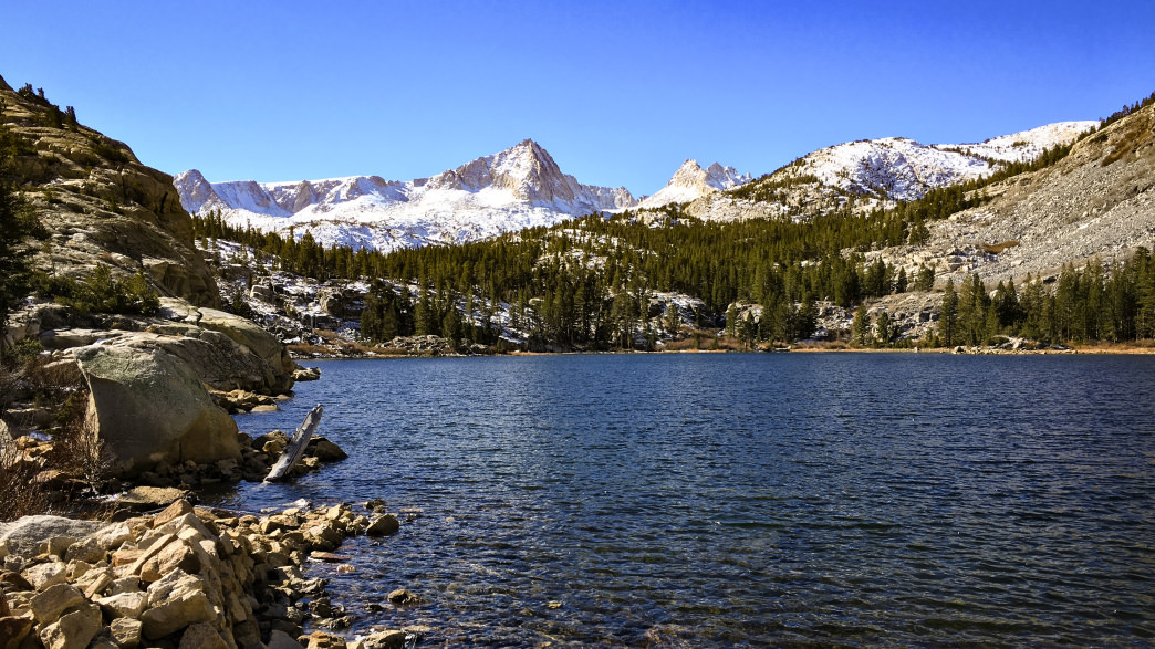 Pine Lake is an alpine lake gem.    Kara Kieffer