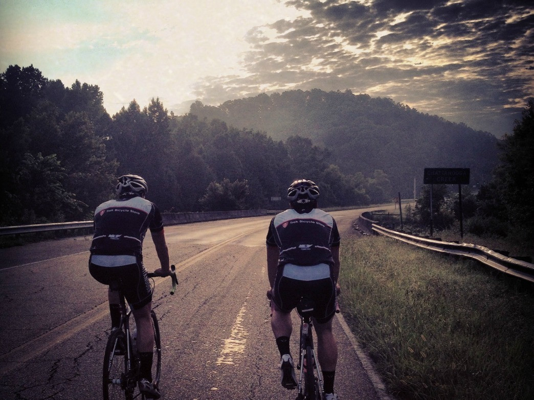 The Flintstone Loop is one of the best road rides in Chattanooga.