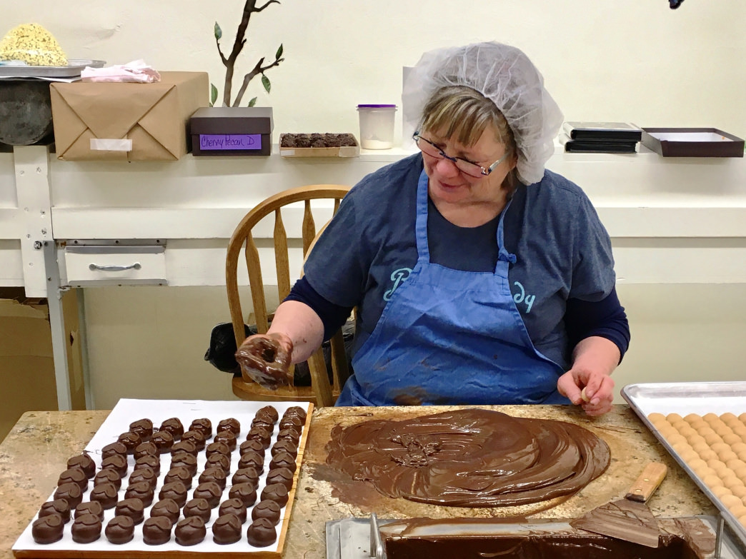 Logan, Utah, is known for its hand-dipped chocolates, as well as other foodie favorites.