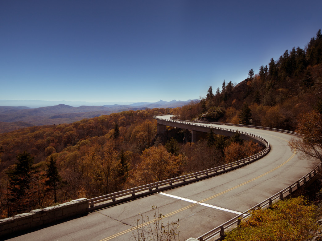 Don't miss the Blue Ridge Parkway, one of America's most scenic roads.