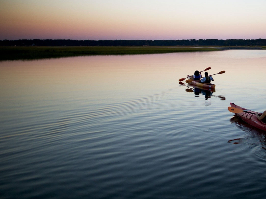 Kayaking in the fall is manageable and rewarding in Hilton Head
