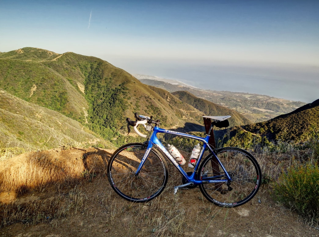 The climbing for road cyclists can be tough, but the views—and the descents—make it all worthwhile.