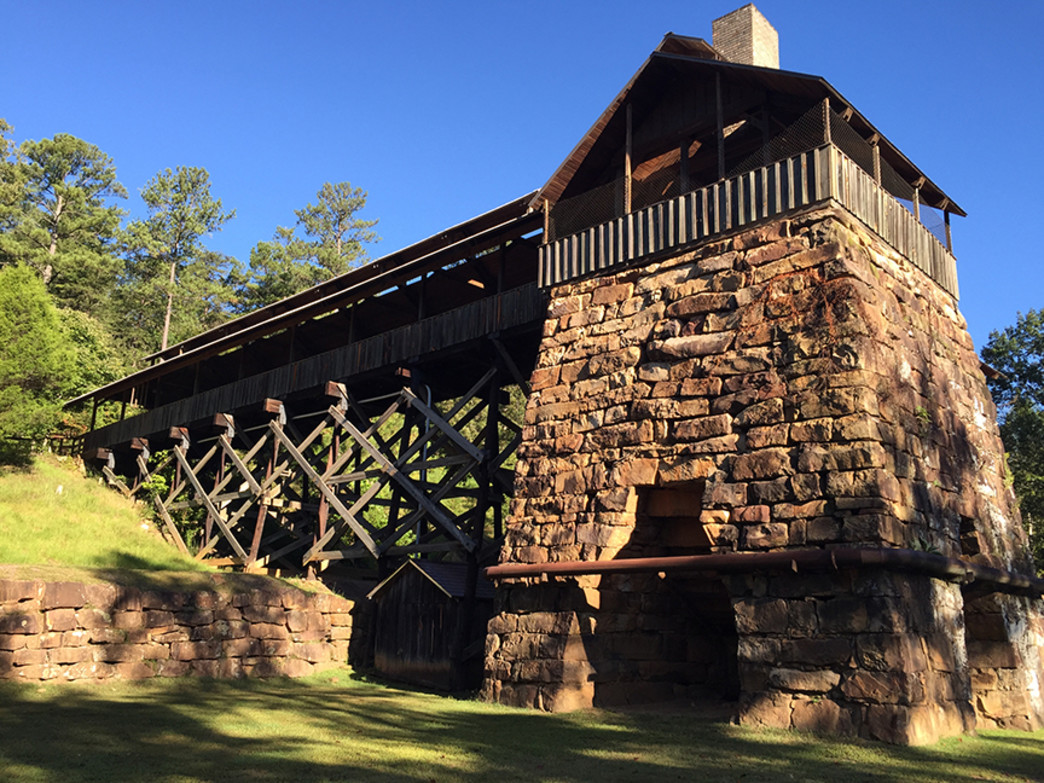 Tannehill Ironworks Historical State Park offers a glimpse into 19th Century life in Alabama.