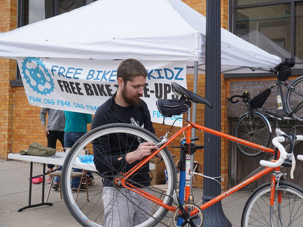 The Minneapolis Bicycle Coalition programs work to attract new people to cycling.