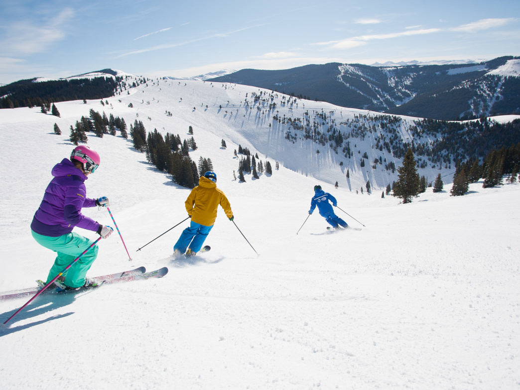 Taking lessons can help you get up to speed quickly and enjoy your time on the mountain more.