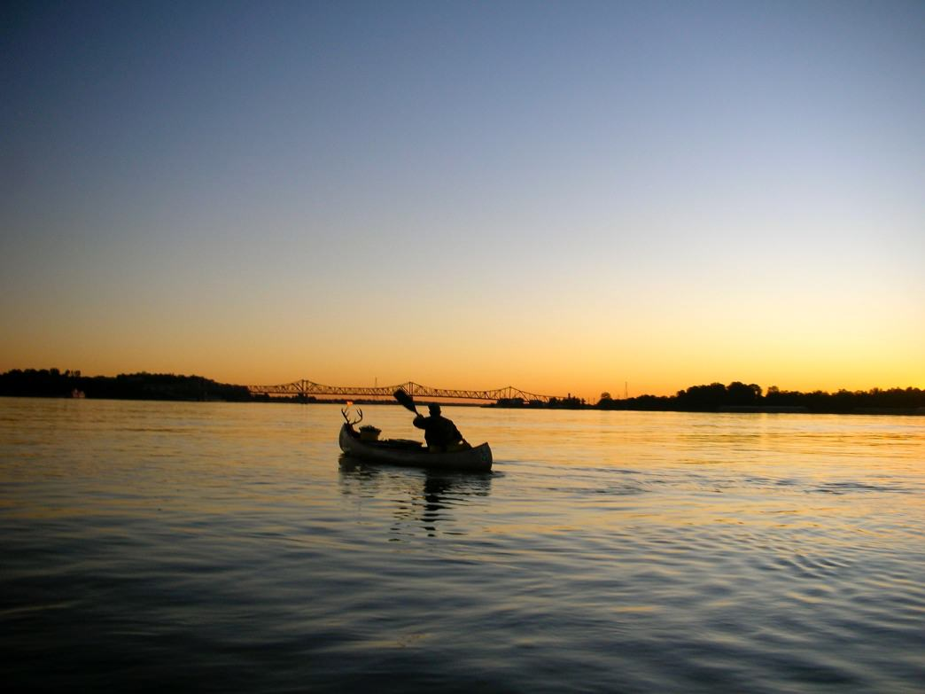 Sunsets on the coastal waterways have the potential for spectacular views such as this.